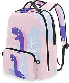 Mochila con Bolsa Cruzada Desmontable, Juego de Mochilas de computadora Be Unicorn, Bolsa de Libro para Viajes, Senderismo, Camping
