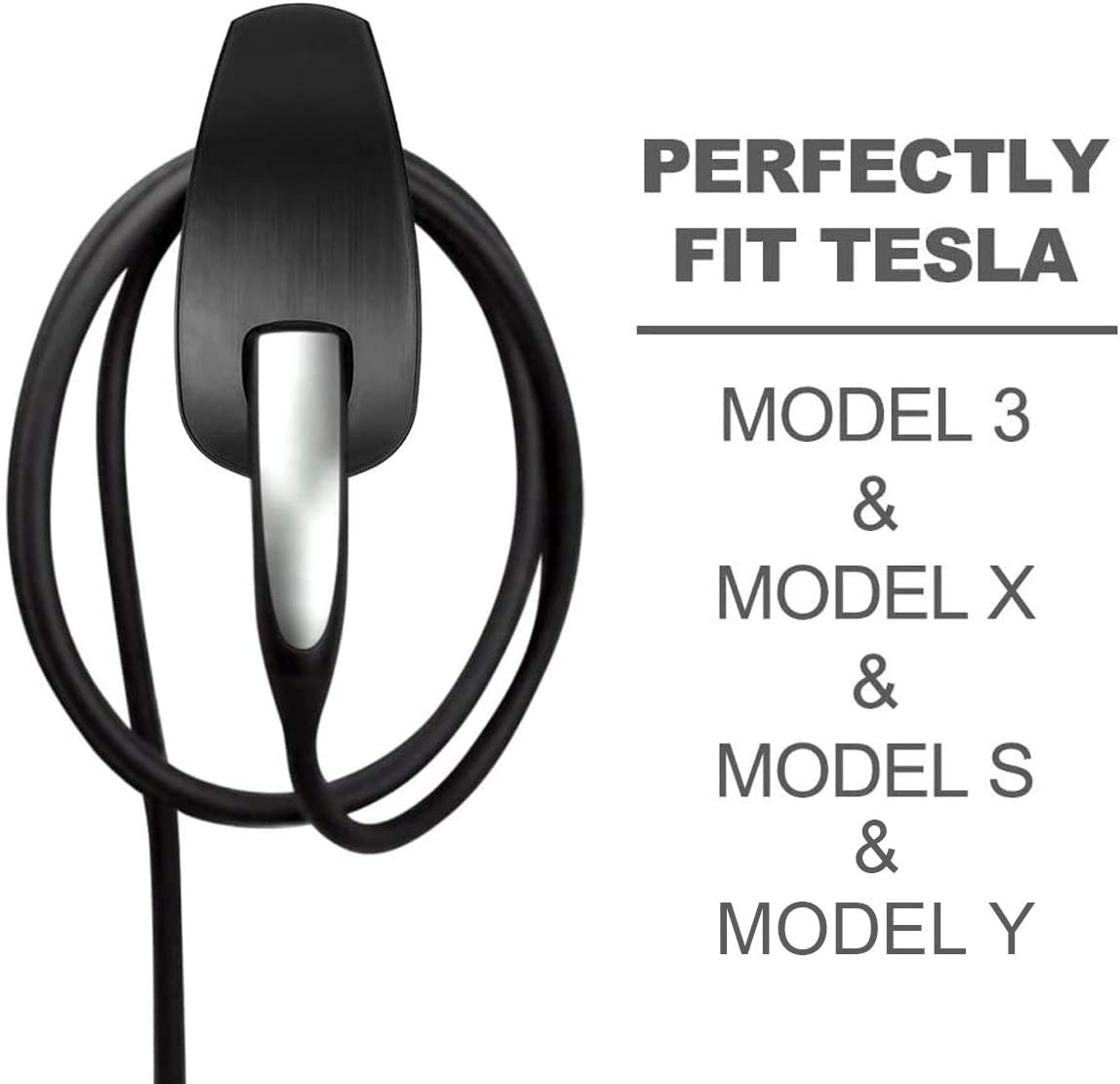 Tesla Miami Mall Charging Cable Omaha Mall Organizer Wall Holder Char Mount Connector