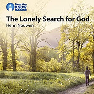 The Lonely Search for God audiobook cover art