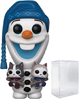 Disney: Olaf's Frozen Adventure - Olaf with Kittens Funko Pop! Vinyl Figure (Includes Compatible Pop Box Protector Case)