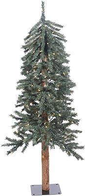 7fa9b9982c2 Amazon.com  Vickerman 9  Natural Alpine Christmas Tree with 500 ...