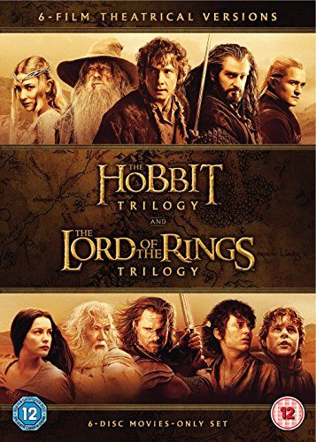The Middle Earth Collection [The Lord Of The Rings / The Hobbit] [DVD] [2014] [2016]