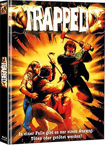 Trapped - Mediabook - Cover A - Limited Edition auf 111 Stück (+ Bonus-DVD mit weiterem Horrorfilm) [Blu-ray]