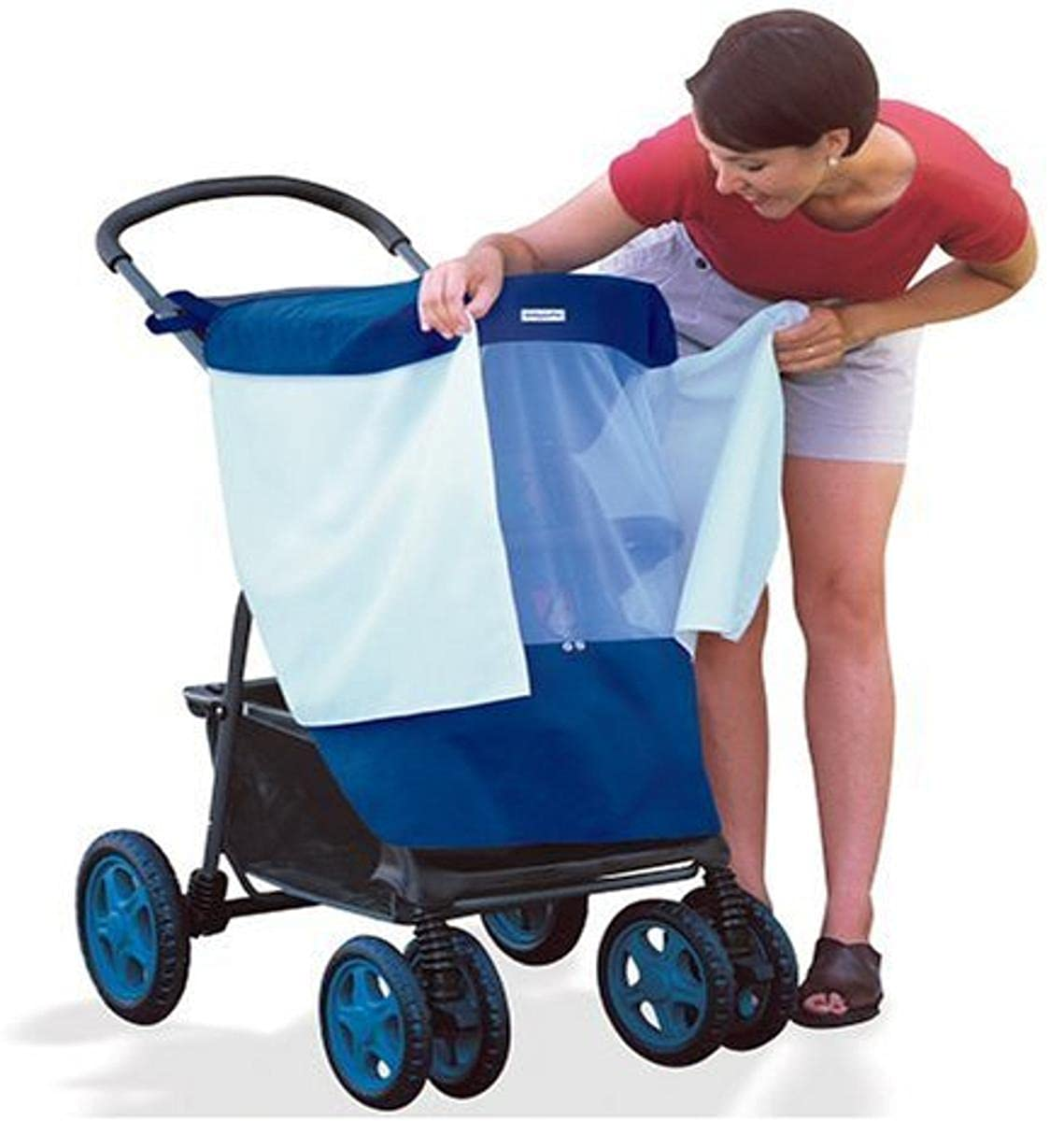 BabyShade Stroller Cover Protects Infants in Canopied Strollers from Sun, Rain, Wind and Flying Insects (Discontinued by Manufacturer)