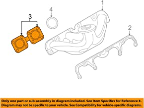 BMW 11-62-7-614-095 Exhaust Manifold/Cylinder He