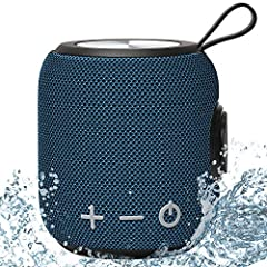 【HiFi Sound Quality】: The portable bluetooth speaker has shocking rich bass, large volume without voice break, 360° all around sound effect.Equipped with 10W high-quality speaker. Smooth and supple appearance gives you a great visual experience.High-...