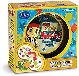 Spot it! Jake and the Never Land Pirates- Numbers and Shapes
