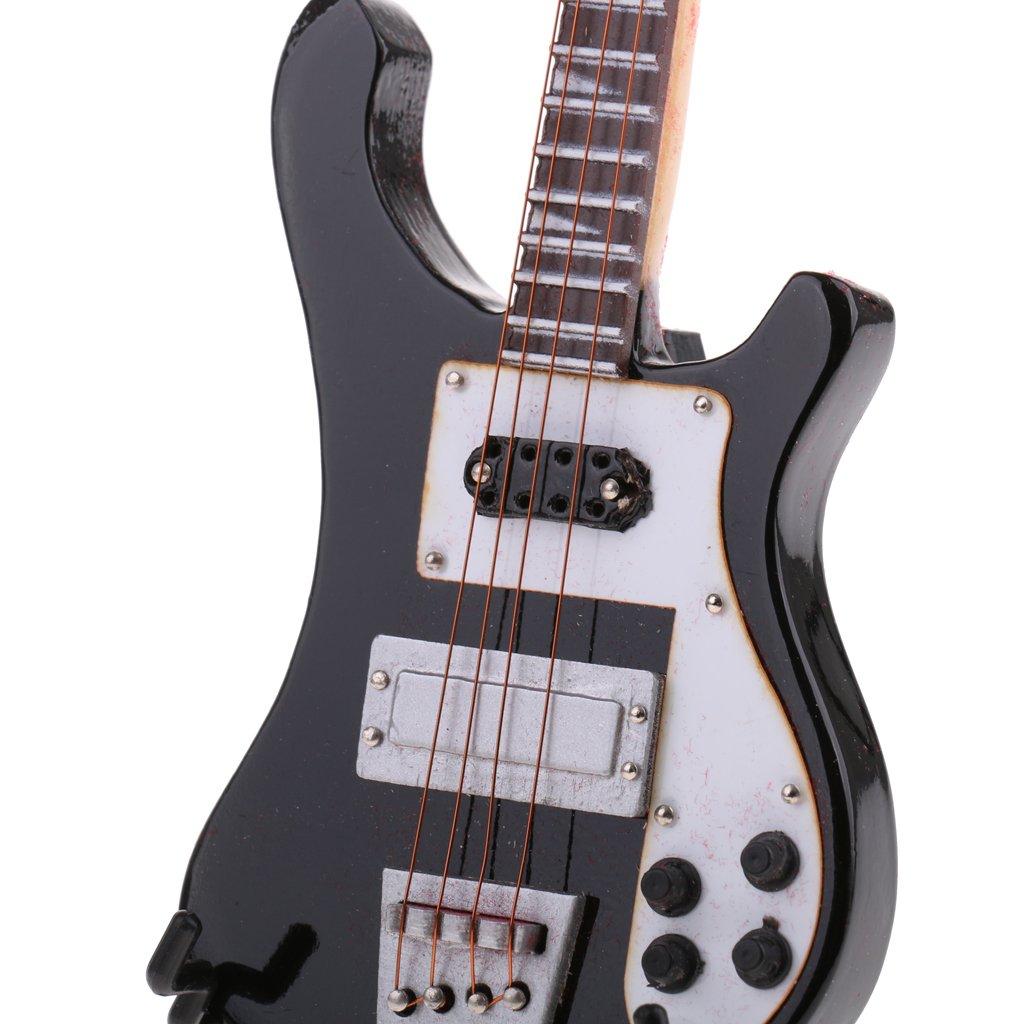 Amazon.es: B Blesiya 1:6 Bajo Eléctrico y Guitarra Modelo Juguetes ...