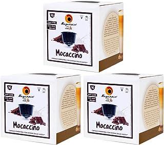 MAGAZZINI DEL CAFFE Mocaccino Soluble, 48 Capsules Compatibles Nescafè Dolce Gusto, Préparé pour Boisson au Goût de Lait, ...