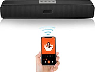 Sailout PCスピーカー サウンドバー 【進化版!臨場感高音質】パソコン/スマホ/テレビ/ゲーム機 サラウンドシステム 重低音 大音量 無線接続可能 コンパクト 自宅もアウトドアも便利 長時間連続再生を実現 簡単USB接続