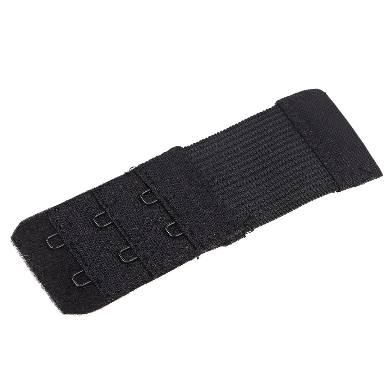 Perfk ブラジャー 延長ホック 調整ホック 締め付け防止 快適 DIY 幅0.9cm 2段 全3色