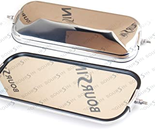 Side Door Mirror Chrome Fit (1986-2007) Isuzu NPR NQR NRR NPR-HD NRR 3.9L 4.8L 5.2L 5.7L 6.0L Left/Right