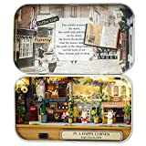 DIY Puppenhaus Mini Welt in Box,DIY Dollhouse Miniature Kit Handmade Xmas/Birthday Idea Gift Box...