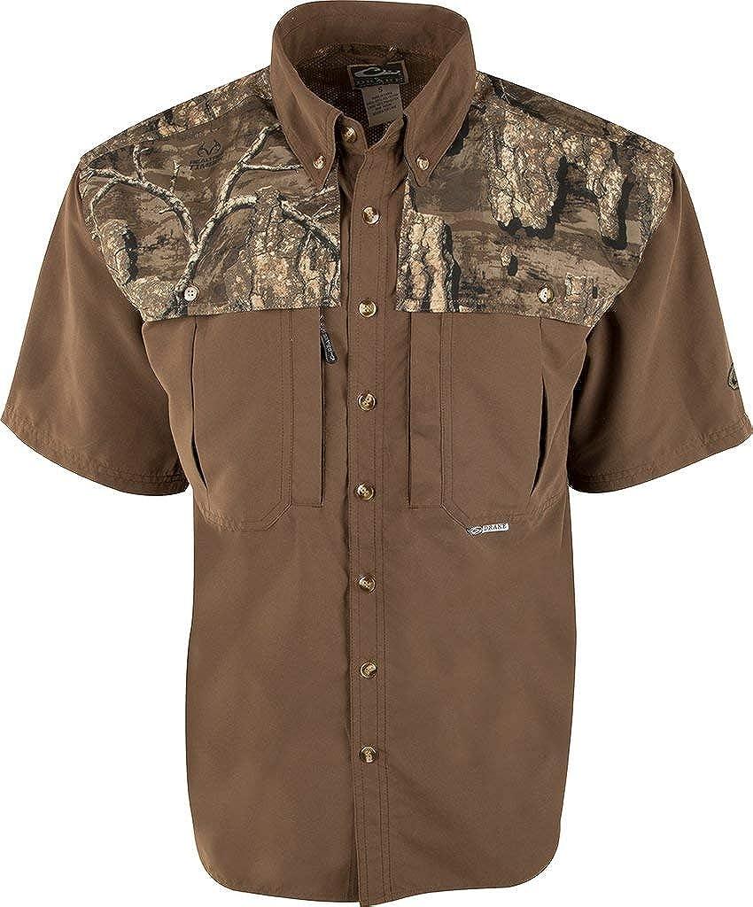 Drake Wingshooter's Shirt S/S Realtree Timber LG