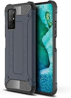 Huawei Honor 30s 用 ケース 保護カバー プロテクターシールド 耐震 耐衝撃 落下防止 (ネイビーブルー)