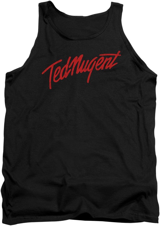149ce1b474085 Ted Nugent - - - Mens Distress Logo Tank Top af8bbf - kmrmlm ...