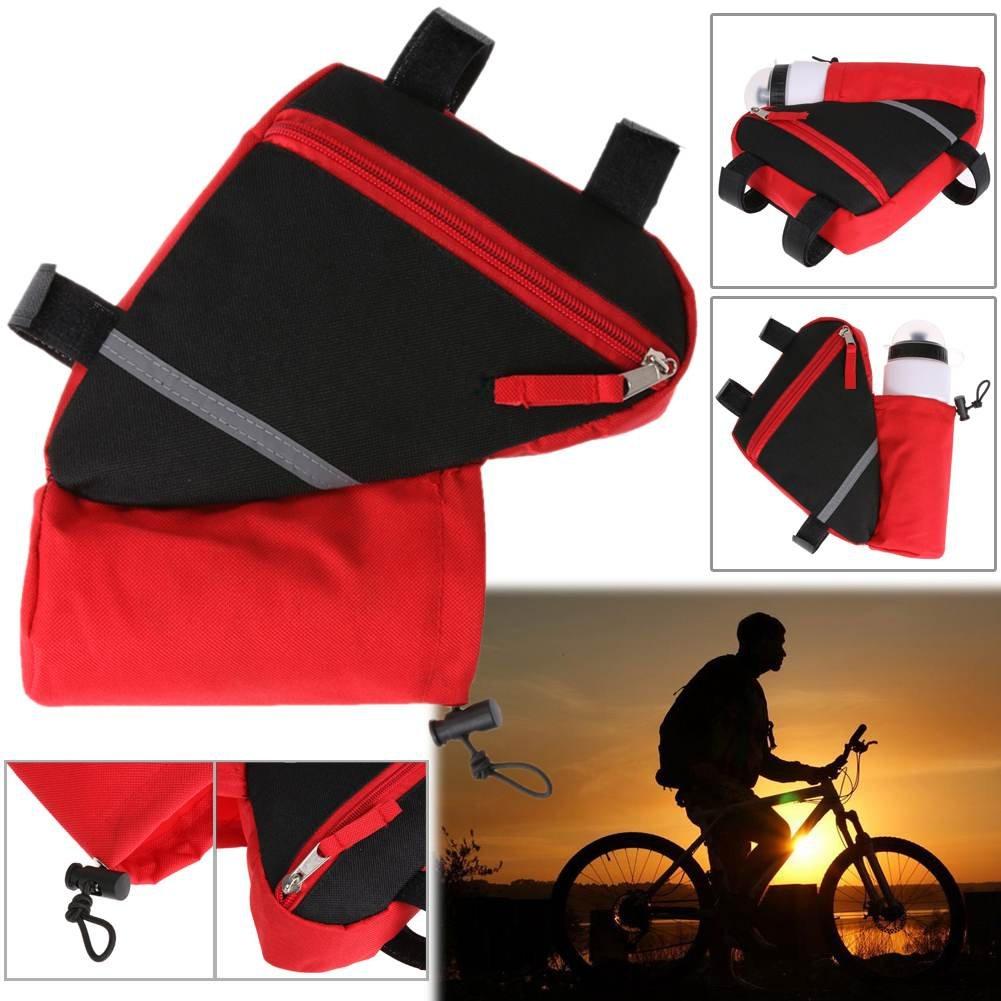 PQZATX Bolsa de Bicicleta Marco de Bicicleta de triangulo ...