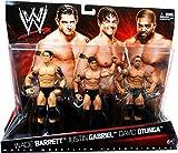 Mattel WWE Wrestling Exclusive Action Figure 3Pack Wade Barrett, Justin Gabriel David Otunga