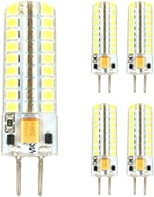 Led bulbs, 5Pcs 5W GY6.35 LED Bi-pin Lights T 72 SMD 2835 320-350 Lm Warm White/Cool White Led Corn Bulb AC12V/AC200-240V ...