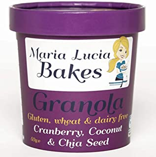 Maria Lucia Bakes Cranberry, Coconut And Chia Seed On-The-Go Pot, 40 g
