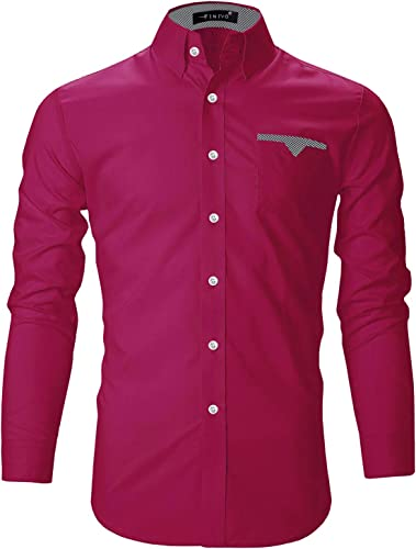 Men S Cotton Casual Shirt