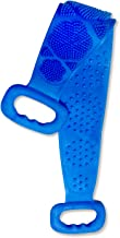 DIRECT FROM FACTORY Silicone Back Scrubber for Shower – Double Sided Body Exfoliating & Scrubbing Bath Brush for Massage & Cleansing, 60x11cm – Silicon Scrub Belt Pad & Washer for Men & Women