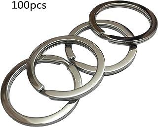 NBEADS 50 unids de 30 mm Iron Split Anillos Platino Llavero Conector para llaveros y Manualidades
