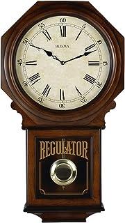 Bulova C3543 Ashford Chiming Clock, Walnut