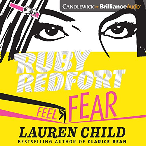 Ruby Redfort Feel the Fear audiobook cover art