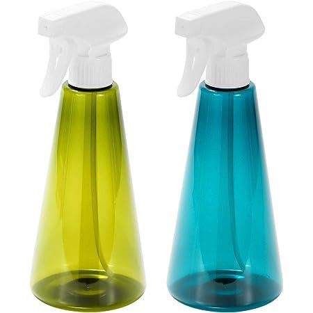 ZITFRI 2Pcs Vaporisateur Vide Bouteille Spray 500 ML en Plastique Pet Flacon Réutilisable Pulvérisateur Plante Atomiseur pour Nettoyage Jardinage Cuision Fleurs