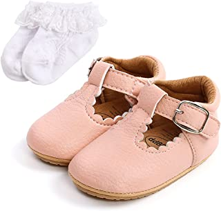 Baby Anti-Slip First Walking Shoes Baby Boys Girls Princess Soft Sole Toddler Shoes Sneakers Infant PU Leather Prewalkers ...
