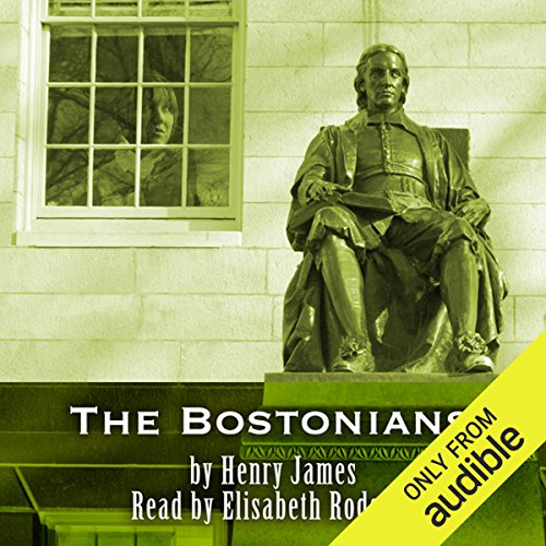 The Bostonians audiobook cover art