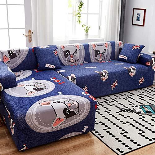 Sofa Seat Cushion Cover,Voll deckender elastischer Sofabezug, universeller Kissenbezug für alle Jahreszeiten, Möbelschutzbezug-Farbe 16_145-185cm