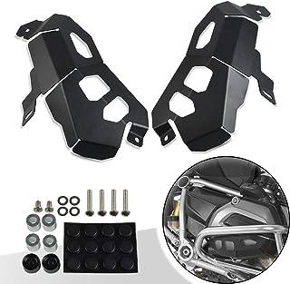 Bruce /& Shark Paramotore Protezione per barre di protezione adatta per B-M-W R1200Rt 2005-2013 2011 2012 Argento
