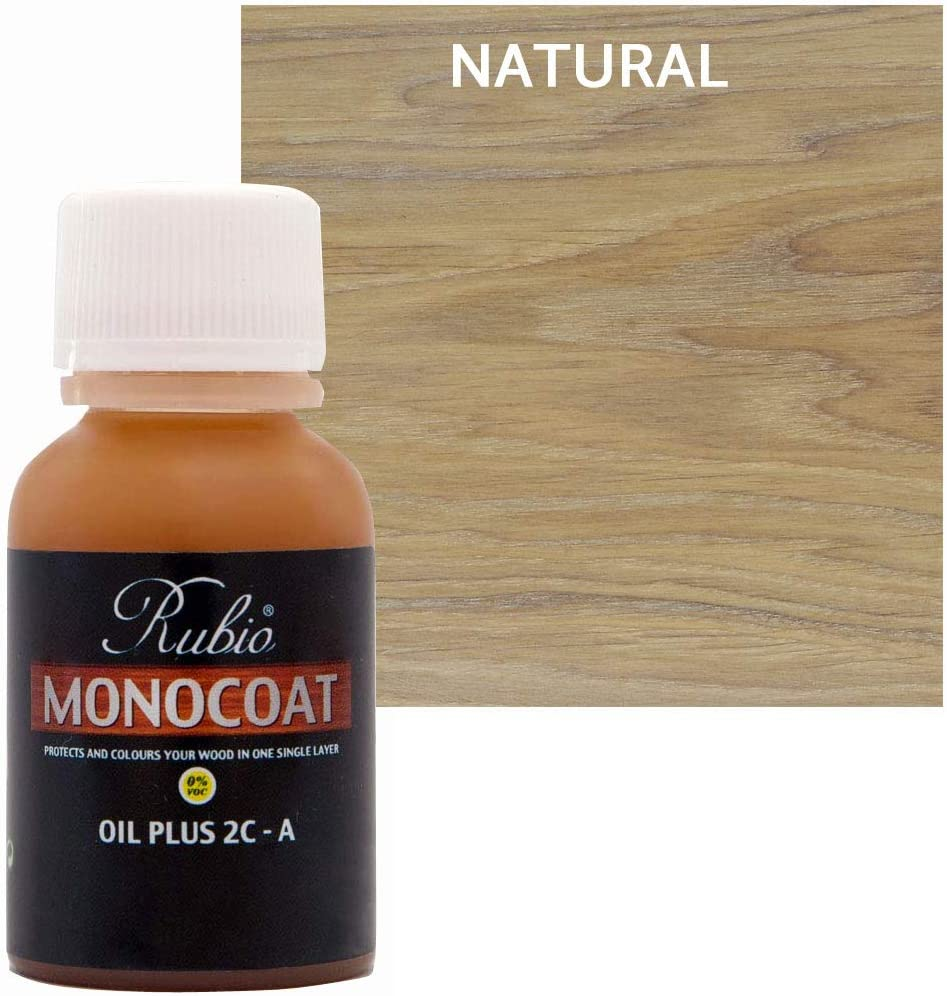 Rubio Monocoat Oil Plus 2C-A Stain Cheap sale lowest price Wood Natural Sample 20ml
