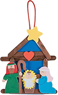 Best nativity christmas ornaments crafts Reviews