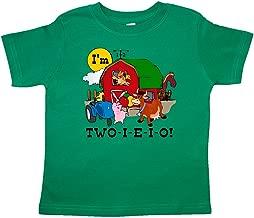 inktastic - Two-I-E-I-O Toddler T-Shirt c918