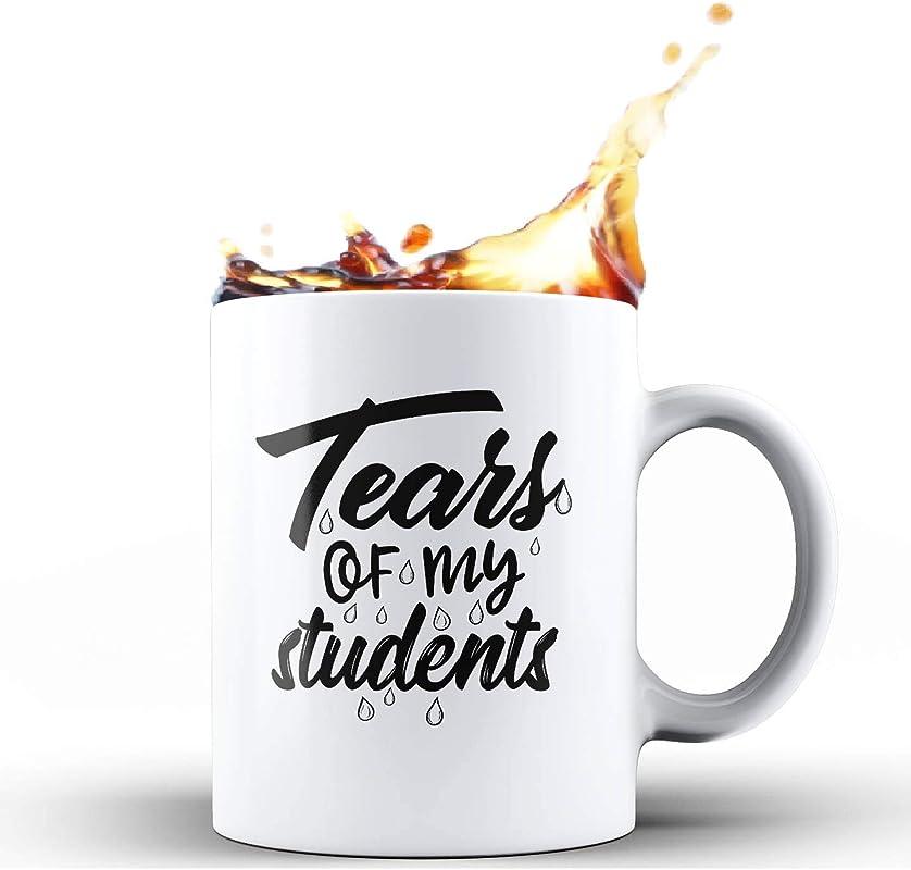 Shop4Ever Tears Of My Students Ceramic Coffee Mug Tea Cup Funny Gift For Teacher 11 Oz