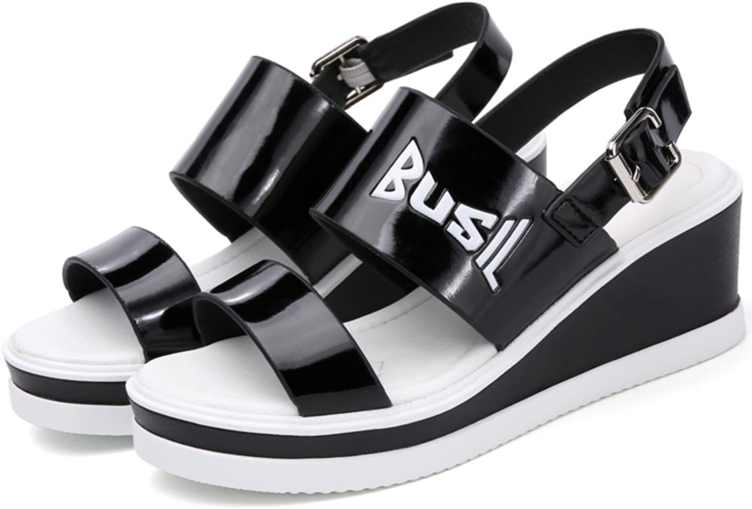 MET RXL Summer,Lady,Wedges,Casual shoes Thick-Soled,High Heel Sandals