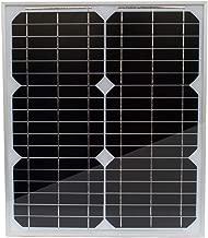 TP-solar Solar Panel 20 Watt 12 Volt Monocrystalline for Rv Marine Boat Off Grid 12V Battery Charging