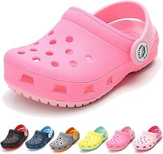782d30fd5d68 BENHERO Toddler Kids Boys Girls Classic Clogs- Slip On Cute Garden Water  Shoes
