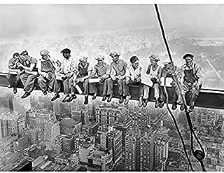 Impression sur toile « Lunch Atop » - Gratte-ciel de New York 1932 - Décoration murale