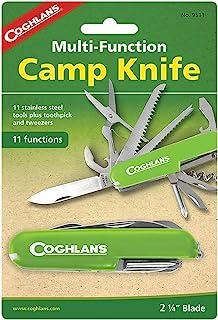 Coghlans Army Knife (11 function) - Cuchillo de hoja fija, color rojo