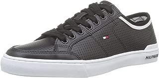 Tommy Hilfiger Erkek Core Corporate Leather Sneaker Spor Ayakkabı FM0FM00552