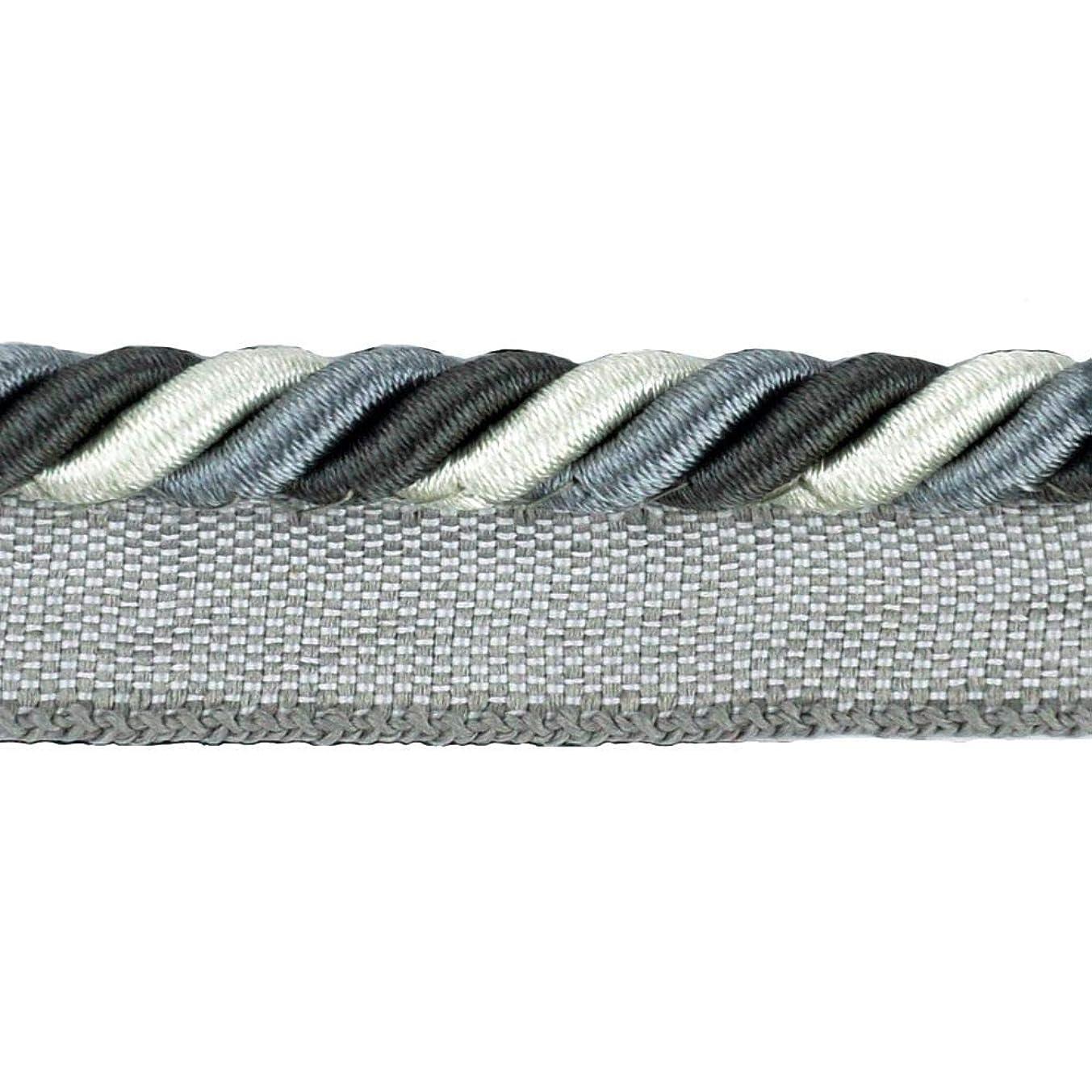BELAGIO Enterprises BC-1023-49-11 Cord with Lip Gunmetal