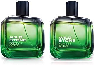 Wild Stone for Men, Forest Spice Eau De Parfum, Combo of 2 (EDP)