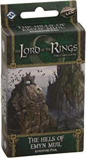 Fantasy Flight Games Lord of the Rings LCG: The Hills of Emyn Muil Adventure Pack