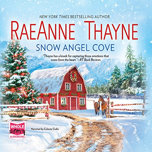 Snow Angel Cove audiobook cover art