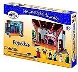 Cenicienta - Juegos para niños, teatro magnética madera [Inglés]