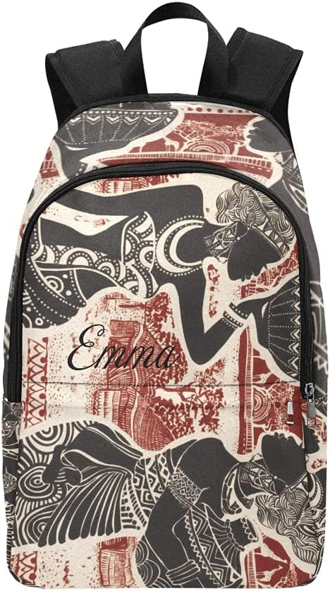 Tribal African Outstanding Women Village Casual Special Campaign Personalized Colleg Backpack